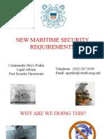 Maritime Security Presentation 2003.ppt