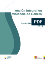 MSP, Norma Técnica Atención VG, 2014