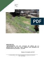 Informe Topografico Rio Casca