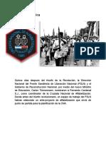 Reseña Histórica Campaña Nacional de Alfabetizacion