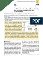 LC−MS Metabolomics of Psoriasis Patients Reveals Disease SeverityDependent