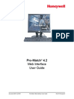 UserGuide Pro Watch4 2WebInterface Guide