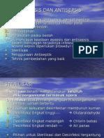 Asepsis & Antisepsis , Sterilisasi