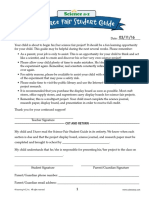 science fair - revised student packet