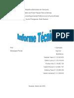 Informe Tecnico Mecanica de Suelos