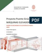 Maquinas Elevadoras - Proyecto