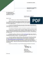 FBI Letter re