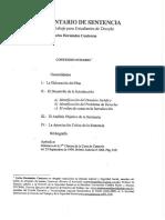 4. El Comentario de Sentencia. Carlos Hernández Contreras