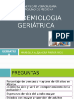 EPIDEMIOLOGIA GERIÁTRICA