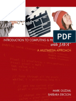 Guzdial, Mark Ericson, Barbara - Introduction to Computing and Programming with Java - A Multimedia Approach.pdf