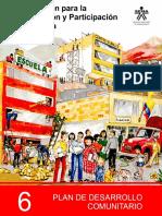 MODULO 6 Plan de Desarrollo Comunitario