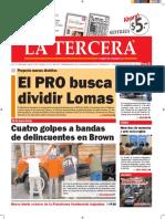 Diario La Tercera 29.03.2016