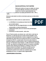 TRABAJO DE FECUNDACION ARTIFICIAL POST MORTEM.docx