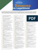 Legal Shield 101 Reasons