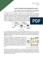 El Transistor, Relevador y Tiristores Como Componentes de Salida