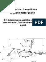 Analiza cinematica