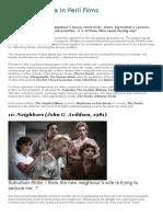 Top 10 Suburbia in Peril Films