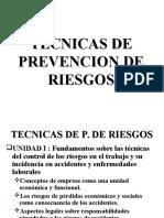 Tecnicas de Prevención de Riesgos