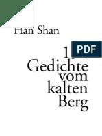 Han Shan - 150 Gedichte Vom Kalten Berg