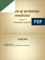 Draft C7 PPM Poluarea Solului
