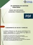 Caso Leasing Financiero
