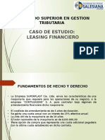 Caso Leasing Financiero