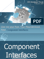 PeopleSoft Component Interfaces