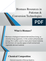 Biomass Resources in Pakistan