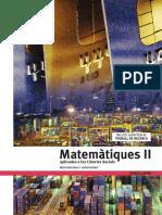 2n batxillerat Solucionari Matemàtiques Aplicades a Les Ciències Socials (Edebé)