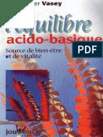 L'equilibre acido-basique - Christopher Vasey.pdf
