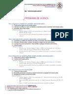 Programa de Licenta Iulie 2016 AP