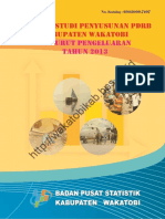 Laporan Studi Penyusunan PDRB Kabupaten Wakatobi Menurut Pengeluaran Tahun 2013