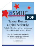 SMHC Taking Human Capital Seriously Report