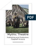Mythic Theatre Flyer, Co=productions with Handmade Films, Flagstaff