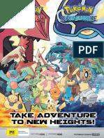 Pokemon Omega Ruby Alpha Sapphire Brochure