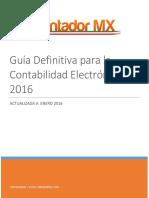 Guia Definitiva Para La Contabilidad Electronica 2016