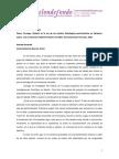 Pensar La Posmodernidad Óscar Cornago Resistir en La Era de Los Medios Estrategias Performativas en Literatura Teatro Cine y Television 2005