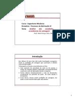 04-Análise Das Condições Econômicas de Usinagem