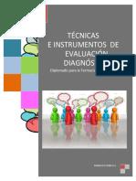 Tecnicas e Instrumentos de Evaluacion Diagnóstica