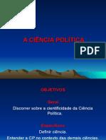 Aula 1 - A Ciência Política
