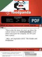foodpanda bpm project