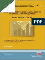 Indicadores Economicos Bases Metodologicas No11 INTA