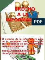 Exposicion Equipo 2 Tema El Derecho a La Informacion