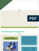 Sociedades irregulares