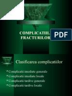 2.Complicatiile Fracturilor Diafizare