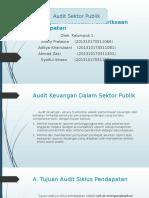 Audit Keuangan – Prosedur Pemeriksaan Siklus Pendapatan