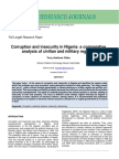 Corruption & Insecurity PDF