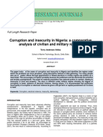 Corruption & Insecurity PDF