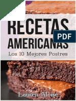 Los 10 Mejores Postres Americanas eBook de Lauren Aloise Nov 2015
