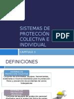 SISTEMAS DE PROTECCIÓN COLECTIVA E INDIVIDUAL - capitulo 3